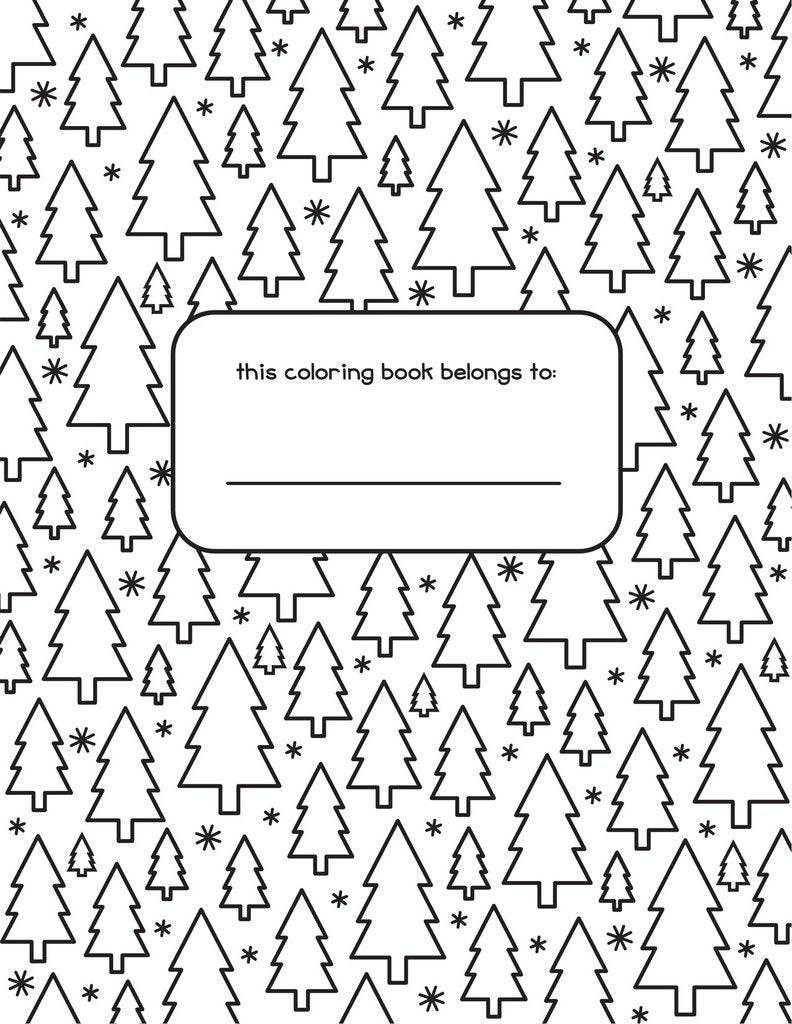 Holiday Colouring Book - Lawn Fawn