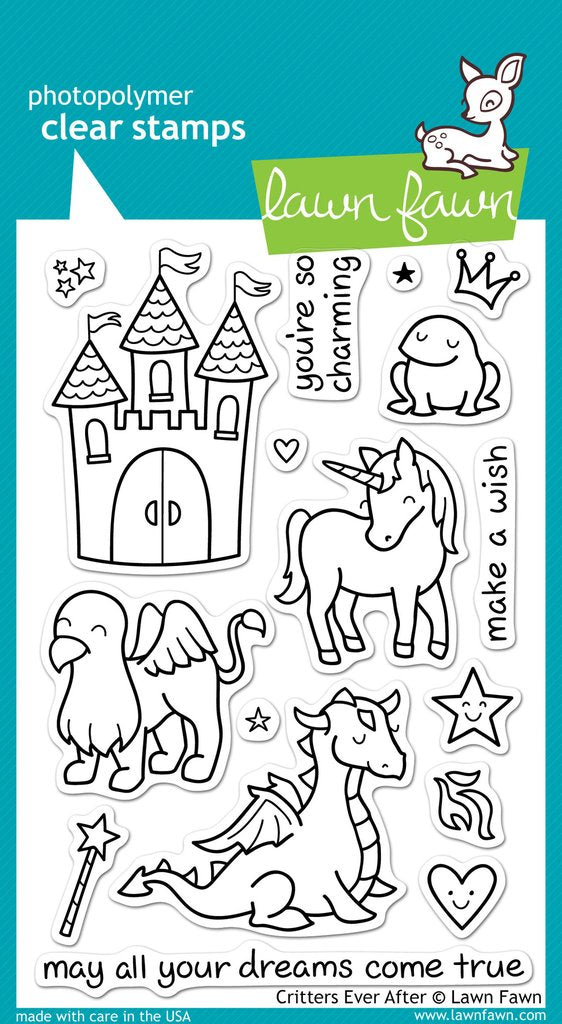 Critters Ever After Clear Stamps