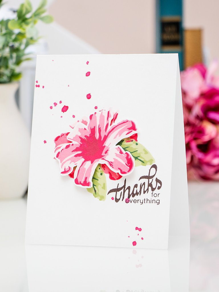 Layered Lily Stamp and Die Bundle
