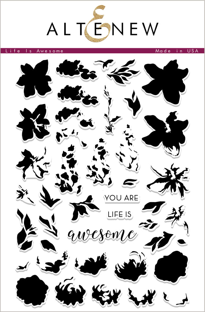 Life is Awesome Stamp Set