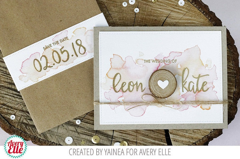 Modern Calligraphy Numbers - Clear stamps