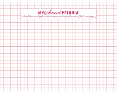 Original MISTI double sided Grid paper