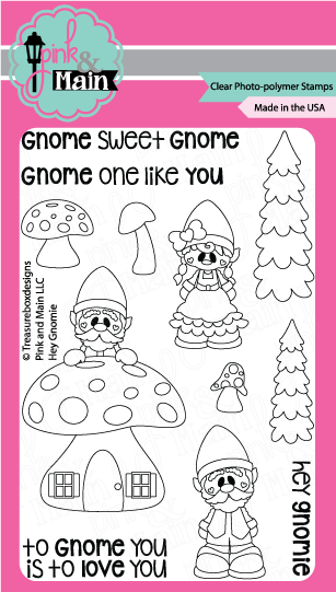 Hey Gnomie Stamp Set