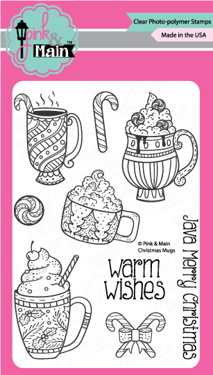 Christmas Mugs Stamp Set