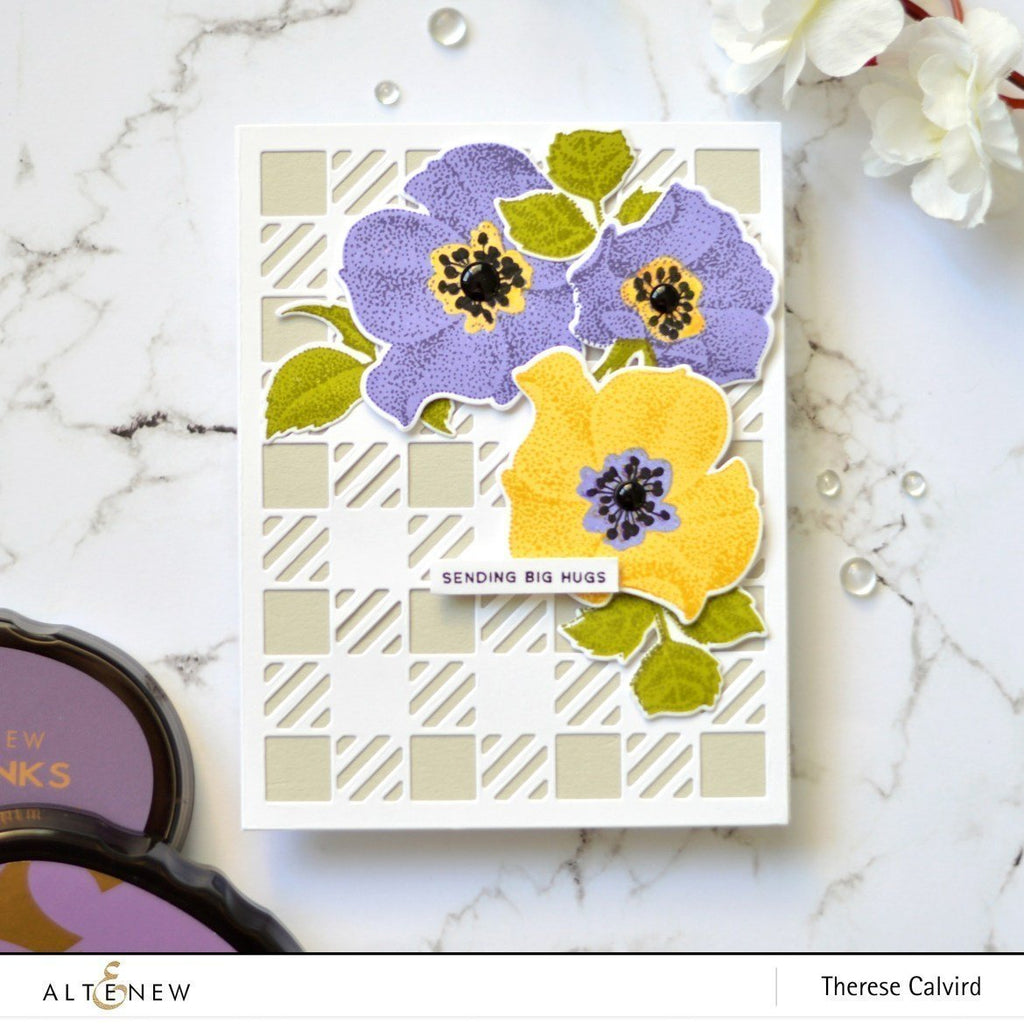 Peaceful Reverie Stamp and Die Bundle
