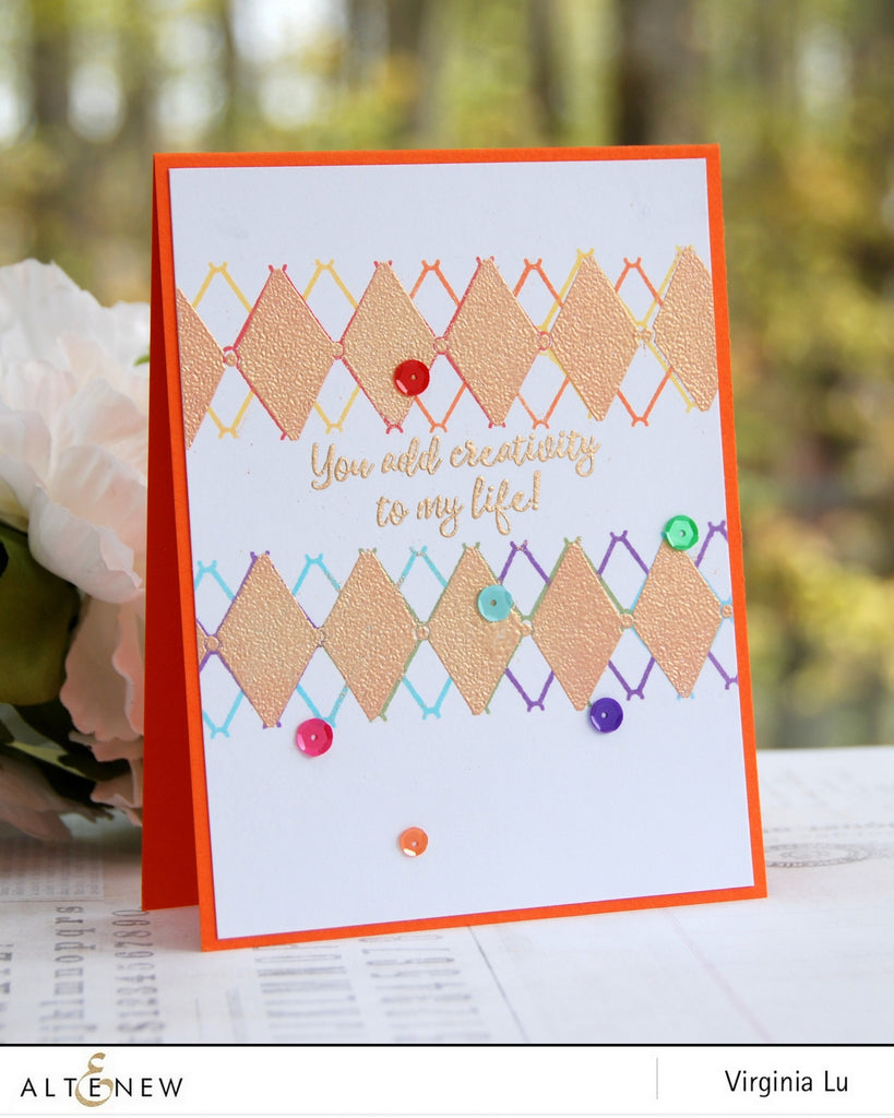 Pattern Play Diamond Stamp Set