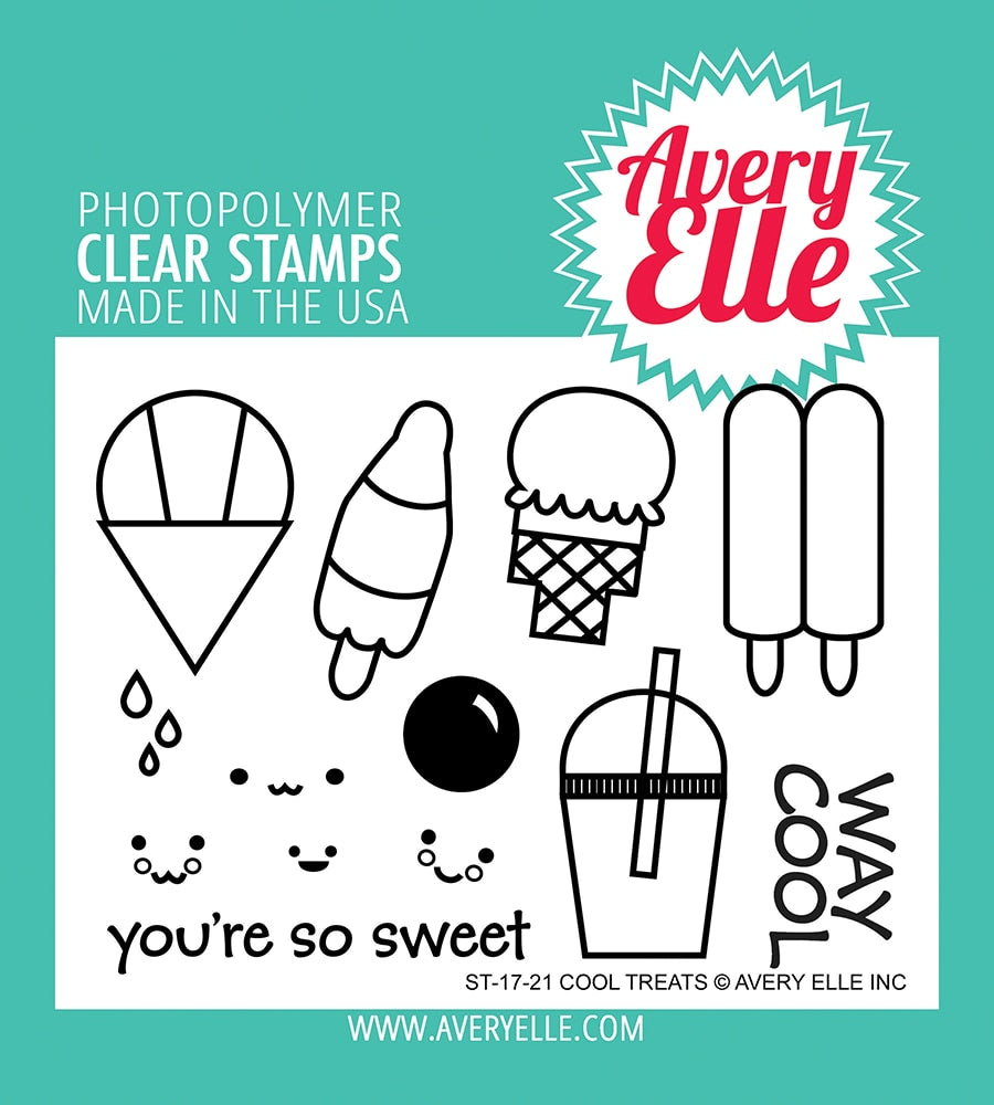 Cool Treats - Clear Stamps
