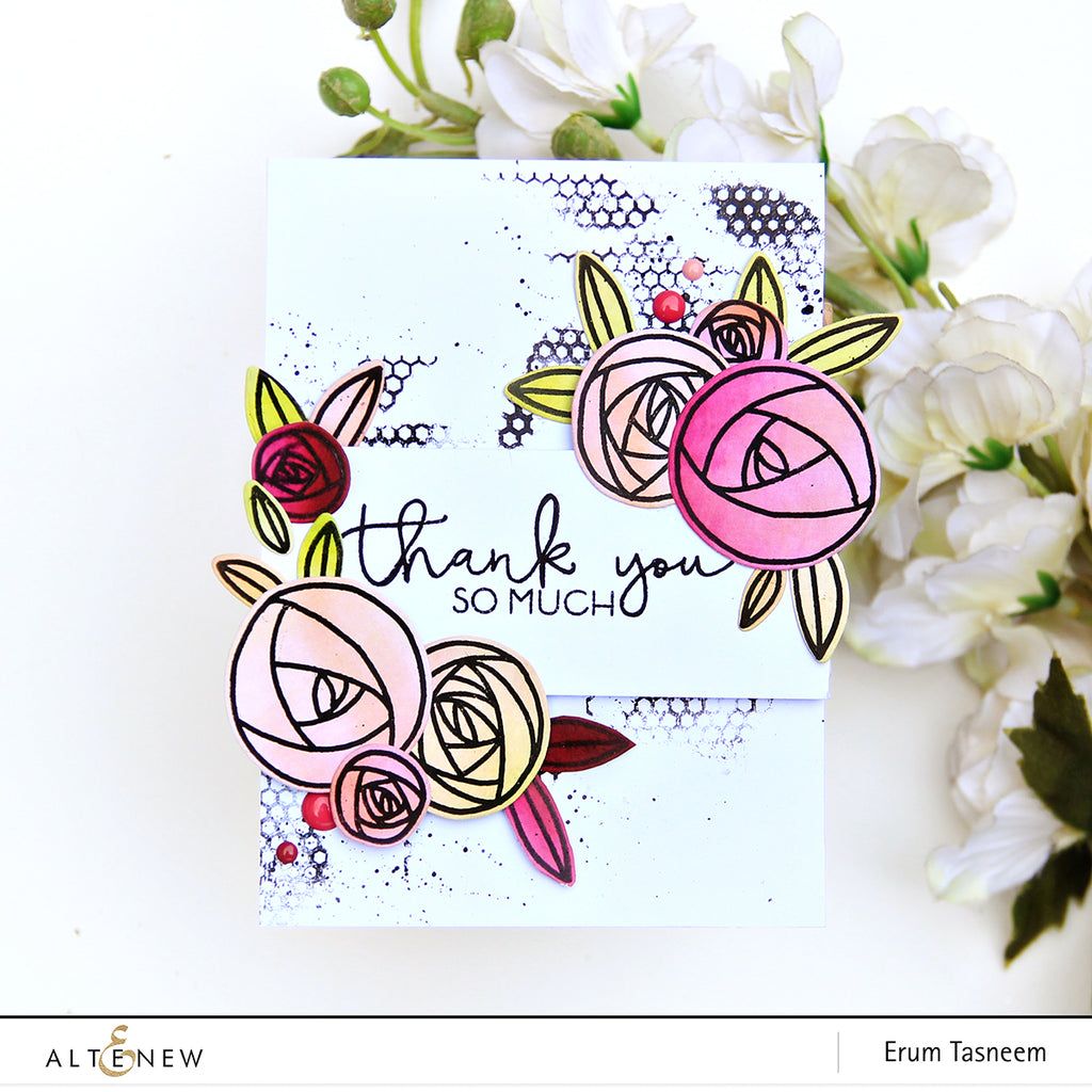 Rosie Posy Stamp Set