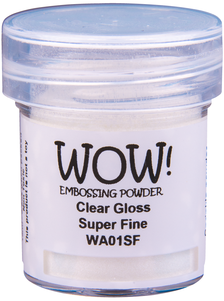 Clear Gloss - Super Fine 15ml