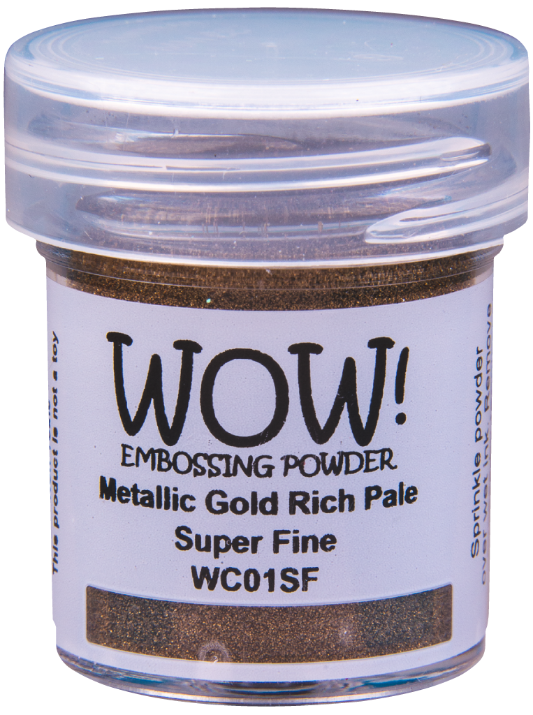 Metallic Gold Rich Pale - Super Fine 15ml