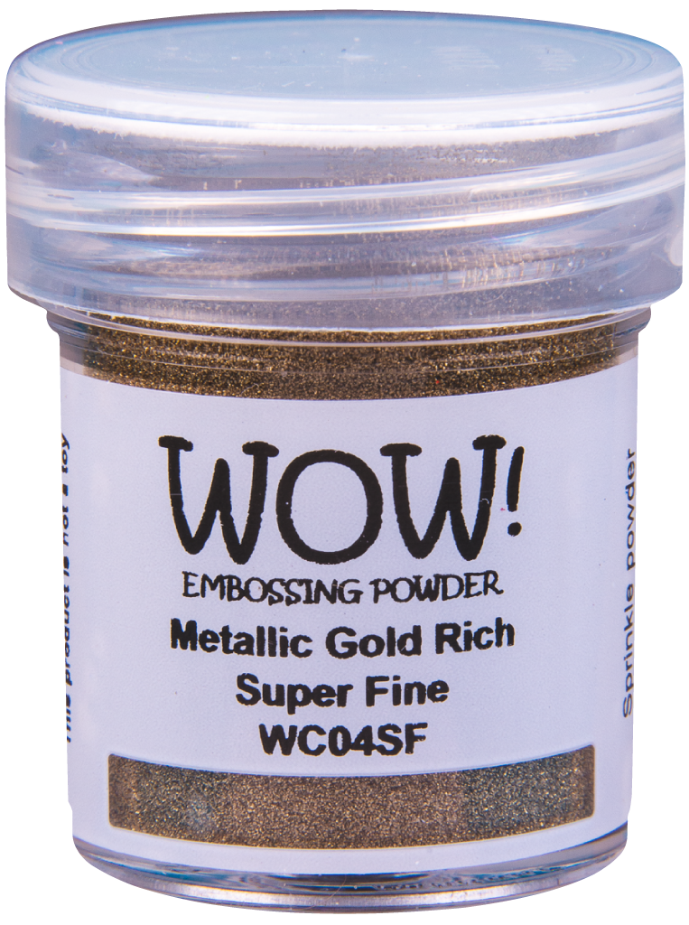 Metallic Gold Rich - Super Fine 15ml