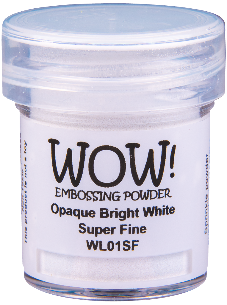 Opaque Bright White - Super Fine 160ml LARGE JAR!