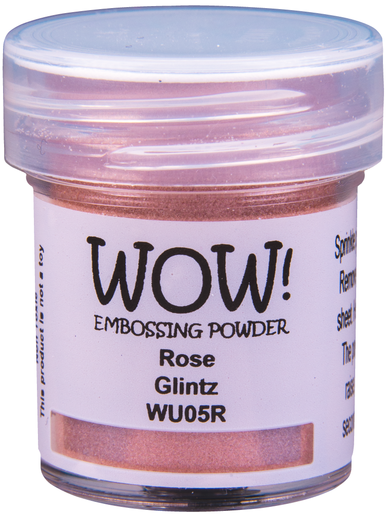 Rose Glintz Embossing Powder - 15ml