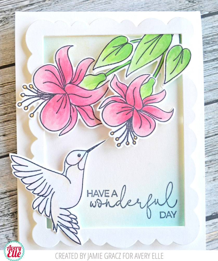 Hummingbird - Clear Stamps