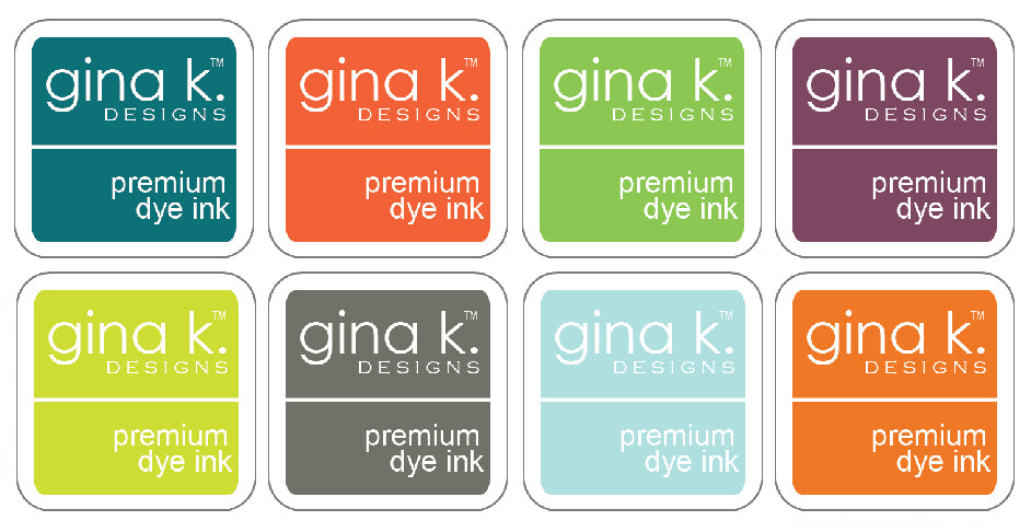 2018 Add on Ink Cube Assortment - Gina K
