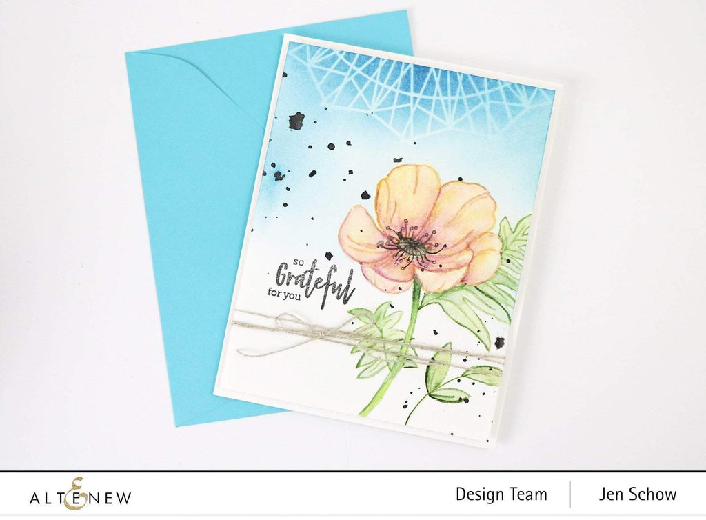 Paint A Flower - Poppy Stamp Set