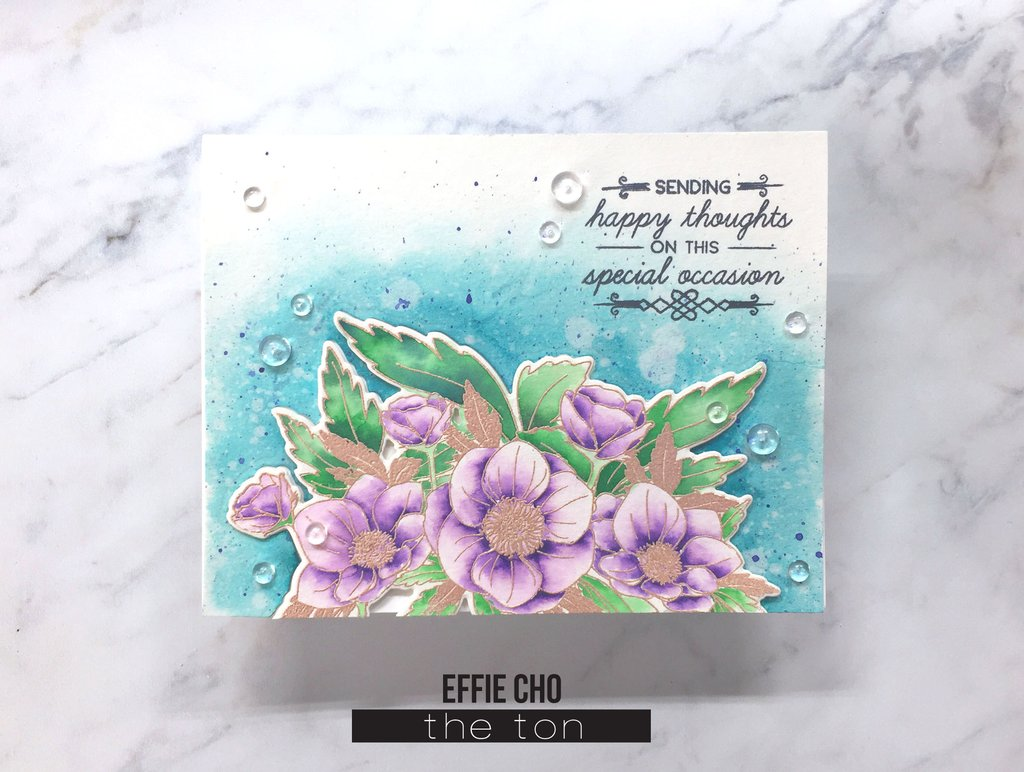 Anemone Wishes - The Ton Stamps
