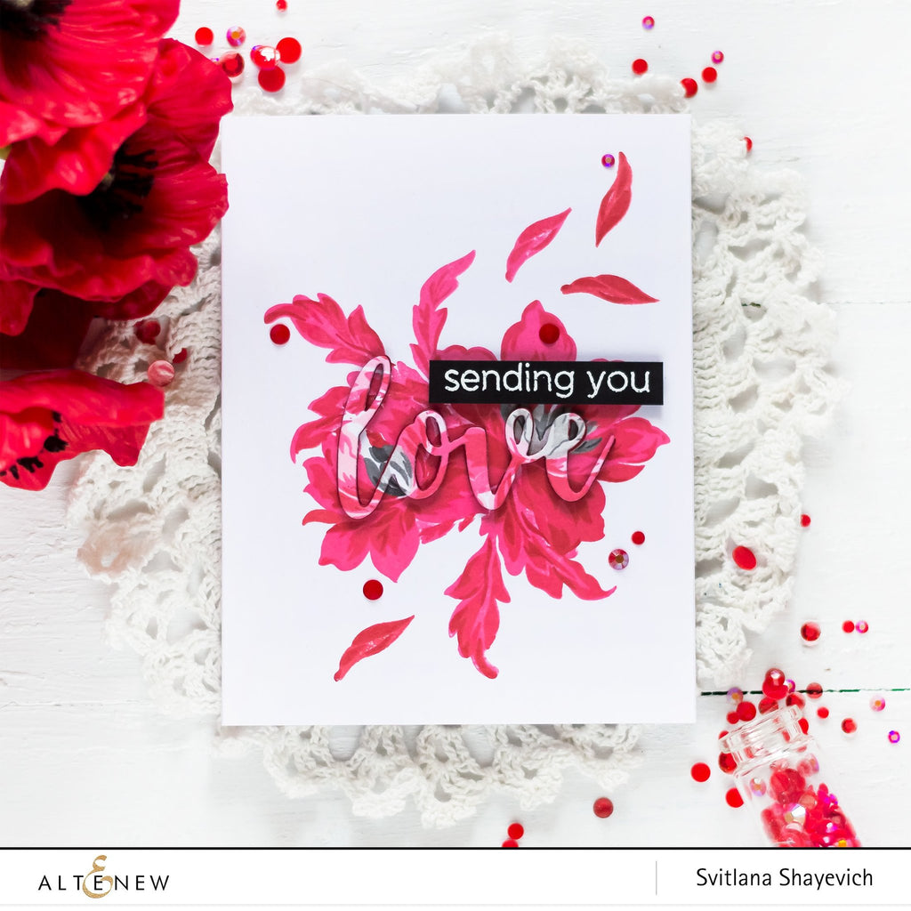 Angelique Motifs Stamp Set