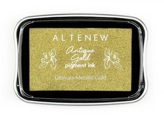 Altenew Antique Gold Pigment Ink