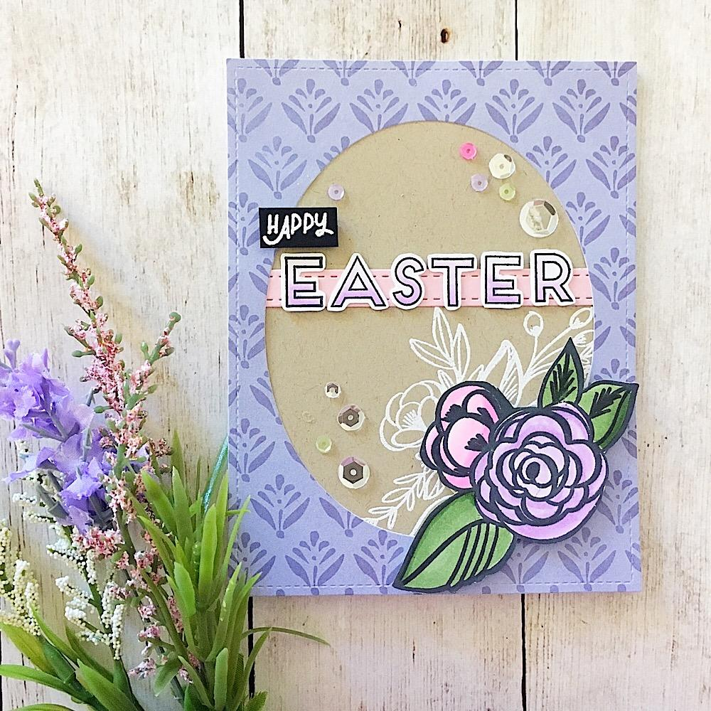 Bella Flora Floral Stamp Set | Ink Road Stamps