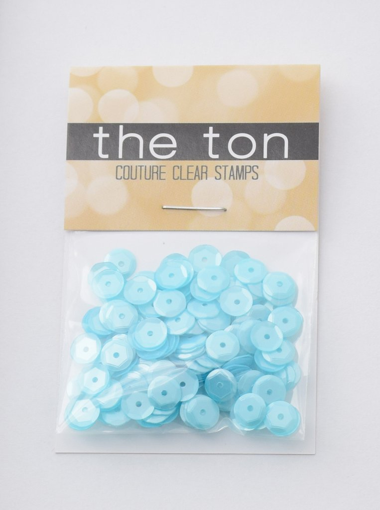 The Ton Bermuda Blue Sequins - Mixed Sizes