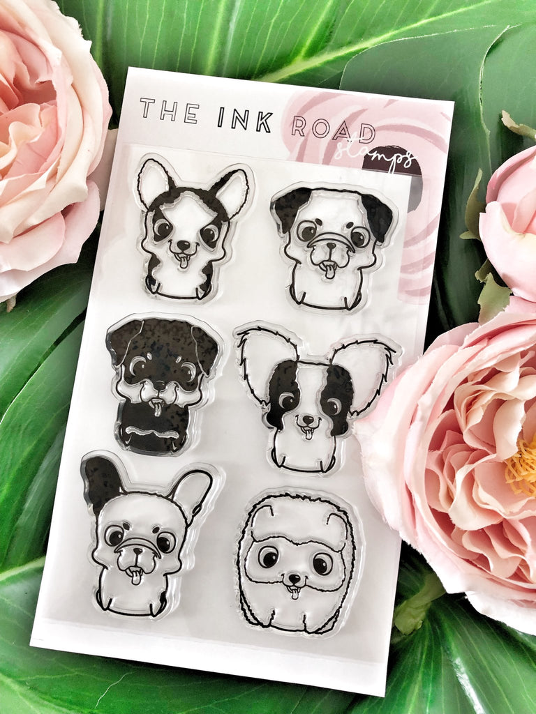 Bork Puppy Craft Stamp Set | Ink Road Stamps