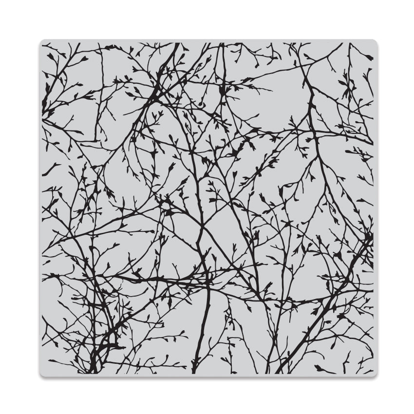 Branches Bold Prints Background Stamp