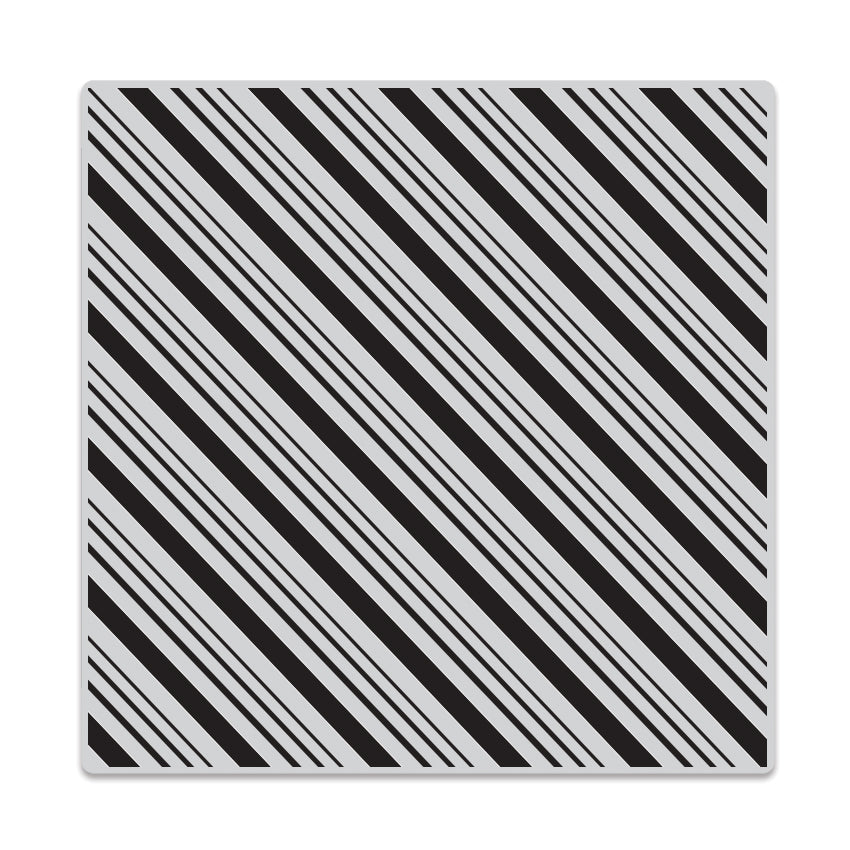 Candy Stripe Bold Prints Background Stamp