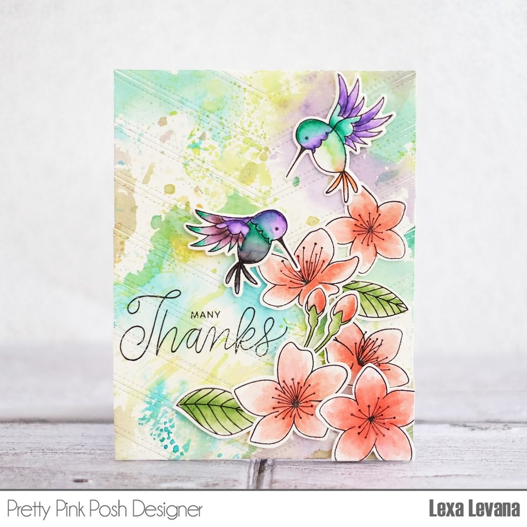 Cherry Blossoms stamp set