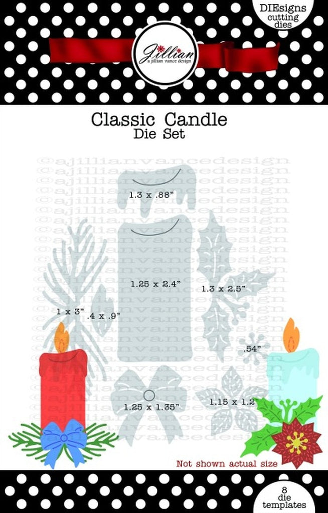 Classic Candle Die Set - A Jillian Vance Design
