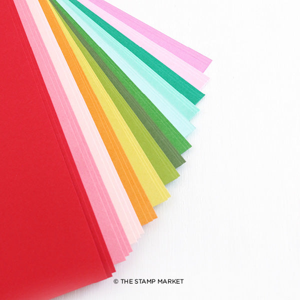 The Stamp Market Color Crush Cardstock Starter Pack