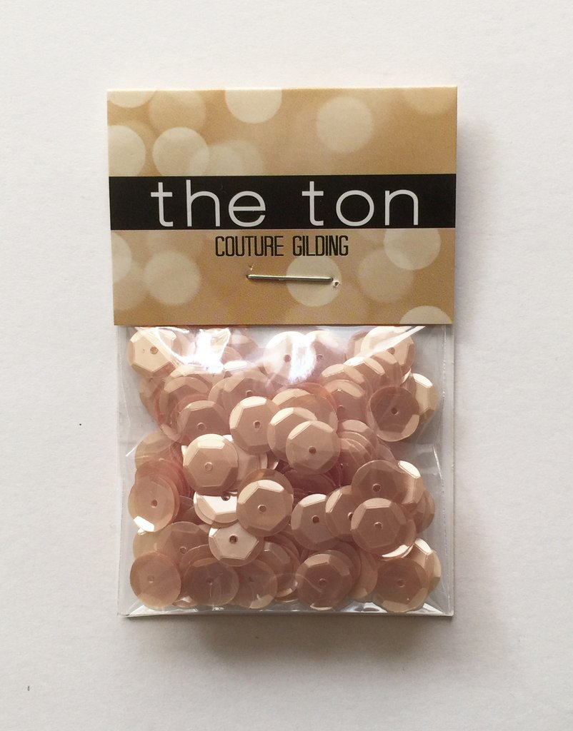 The Ton Creamy Toffee Sequins - Mixed Sizes