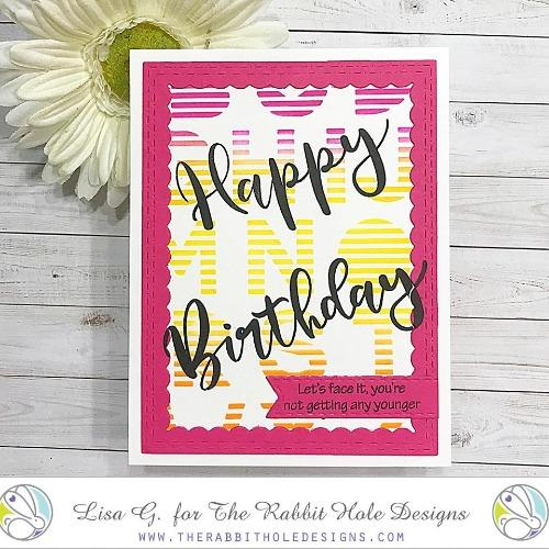 Sassy Birthday 1 Clear Stamps - The Rabbit Hole Designs