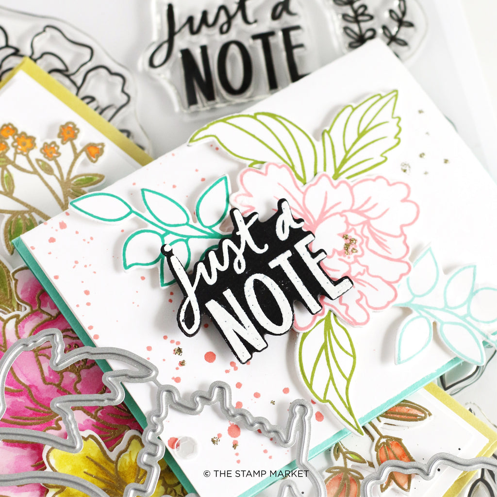 Fabulous Floral Clear Stamp Set