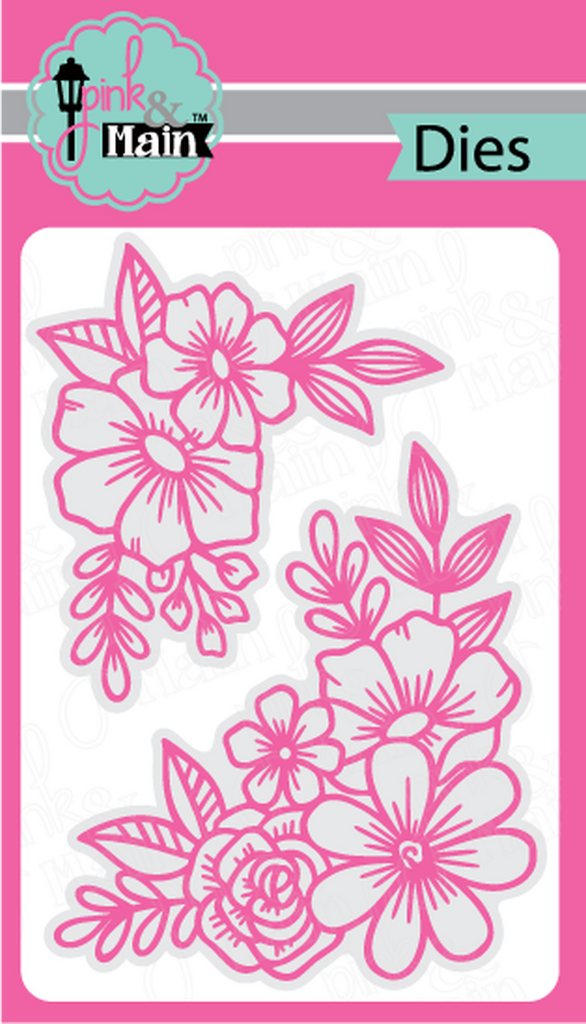 Floral Corners Dies - Pink and Main