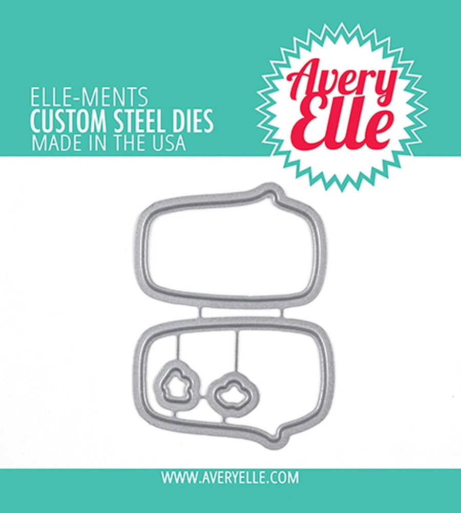 Speech Bubble Ellements - thin dies from Avery Elle