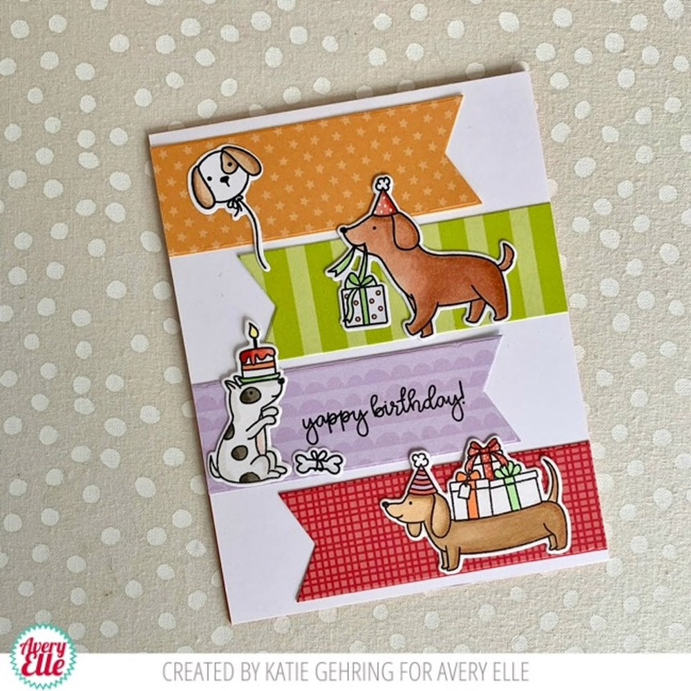 Hot Dog clear stamps - Avery Elle