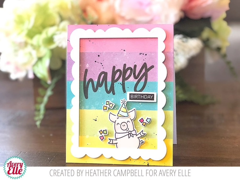Loads of Happy - Clear Stamps from Avery Elle