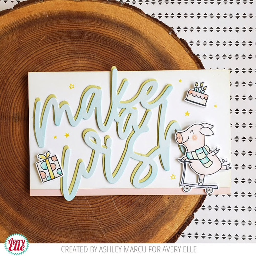 Make a Wish Ellements - dies by Avery Elle