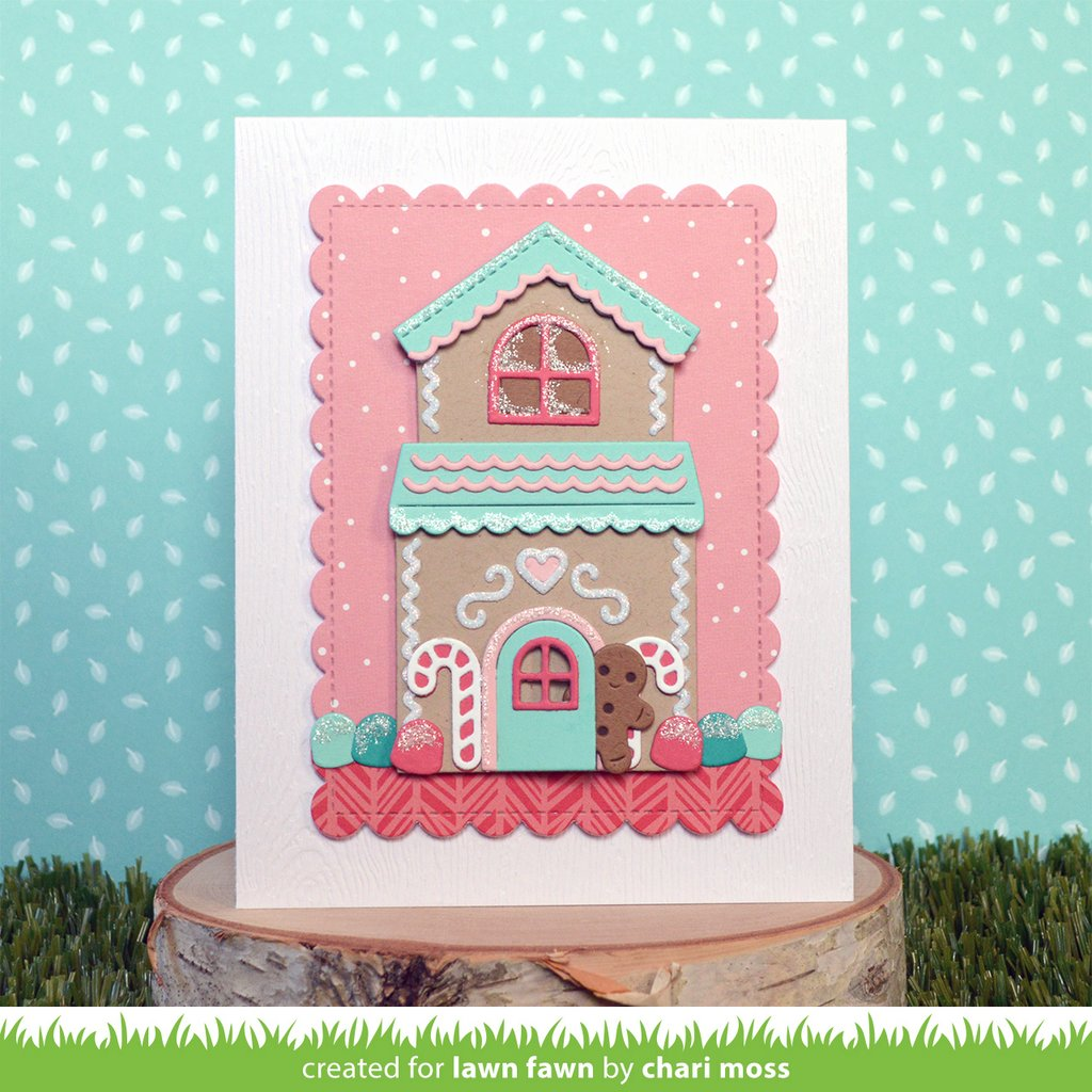 Build A House Gingerbread Add On - Lawn Fawn