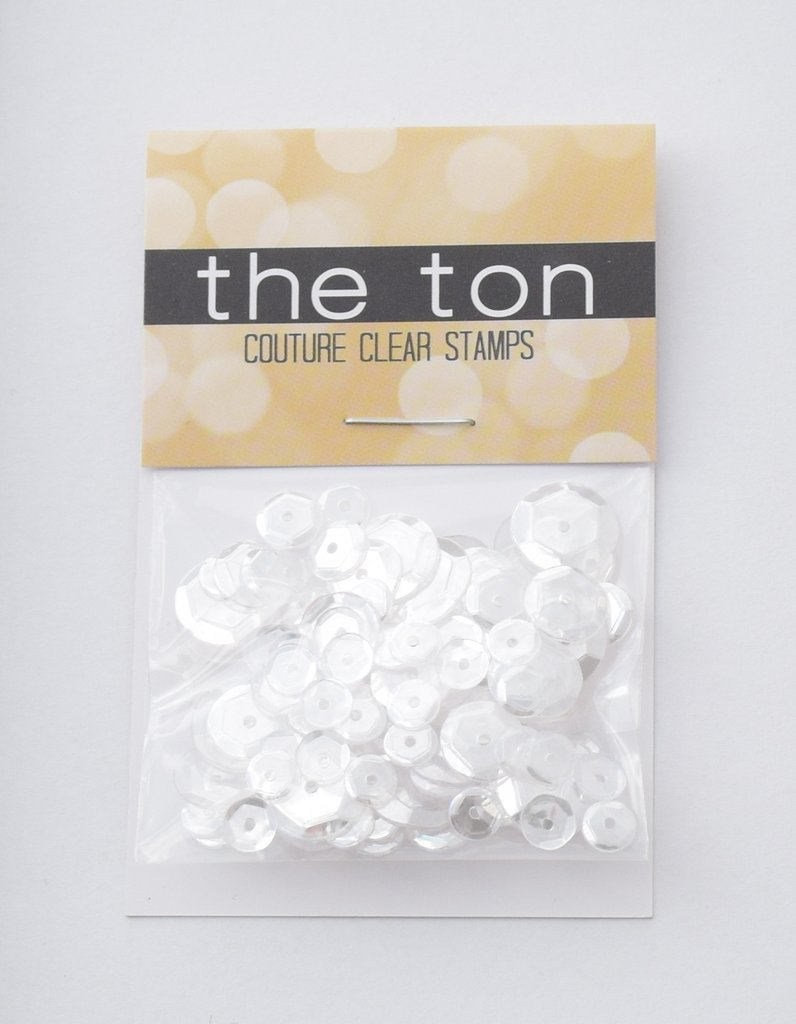 The Ton Glass Slippers Sequins - Mixed Sizes