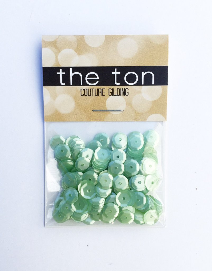 The Ton Green Tea Ice Cream Sequins - Mixed Sizes