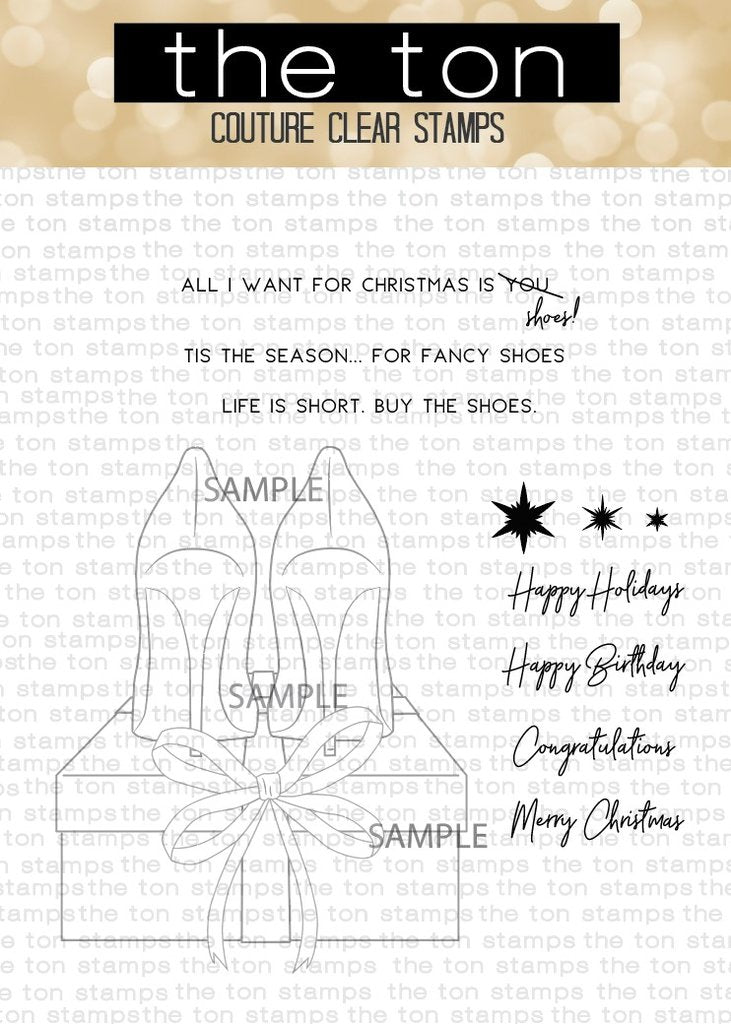 Holiday Shoes -The Ton Stamps