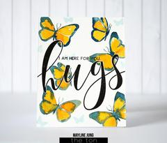 Brushed Hugs - The Ton Clear Stamps
