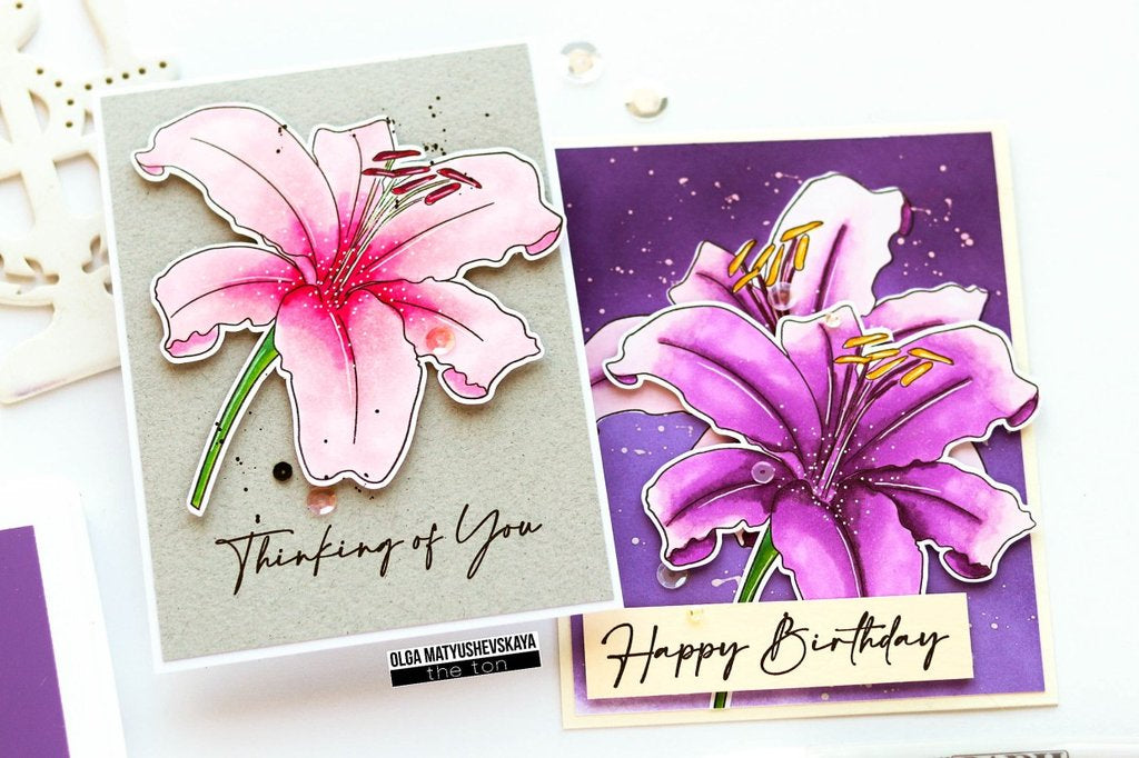 Lovely Lily - The Ton Clear Stamps