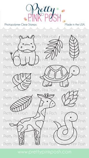 Jungle Additions Clear Stamps