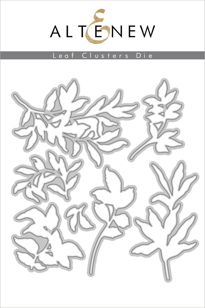 Leaf Clusters Stamp and Die Bundle