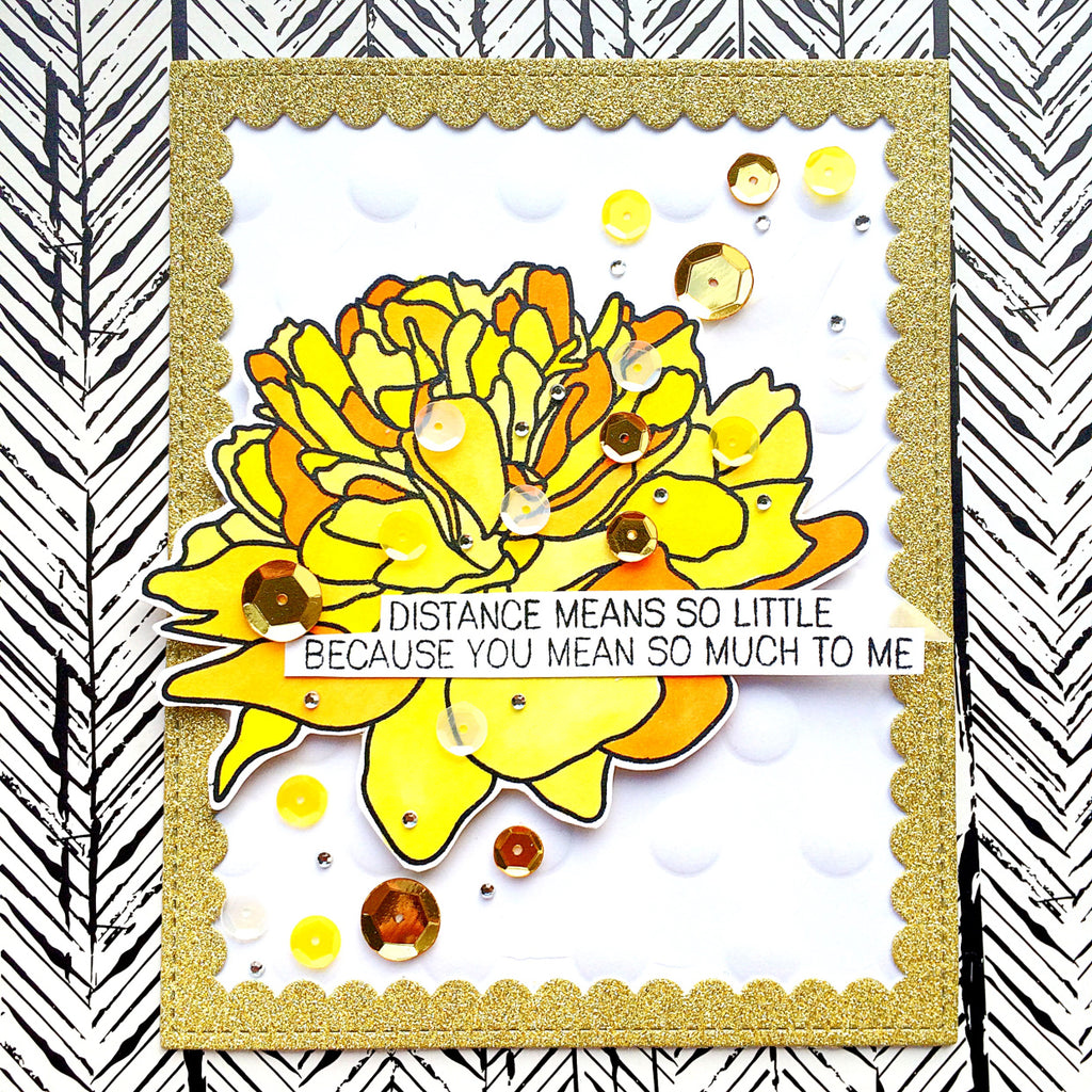 Large Peony 2 - The Ton Clear Stamps