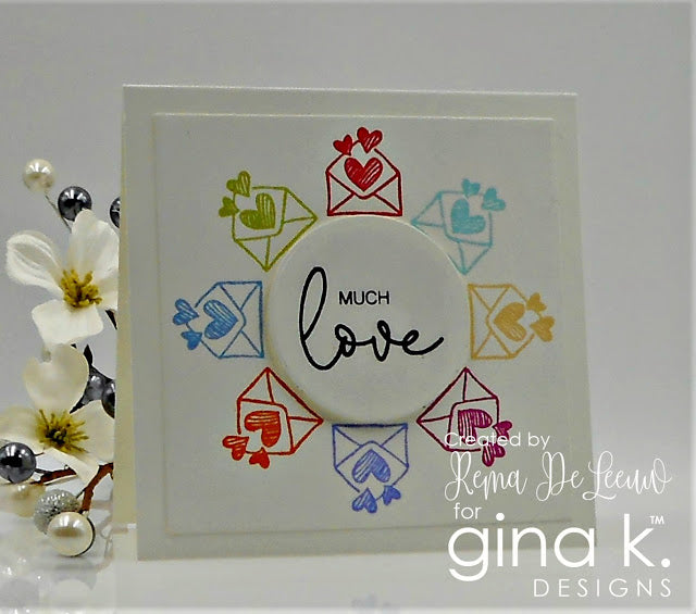 Lovely Words Clear Stamp Set