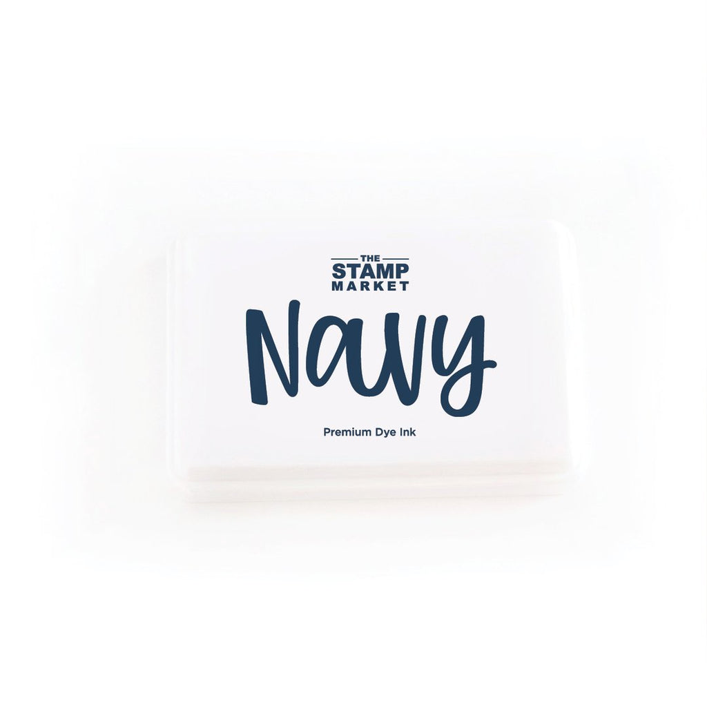 Navy Ink Pad - The Stamp Market